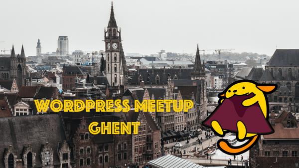 Ghent WordPress Meetup