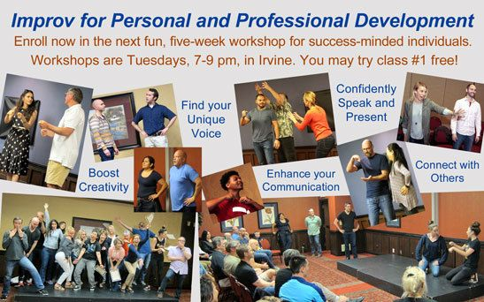 OC Improv for Personal and Professional Development Workshop