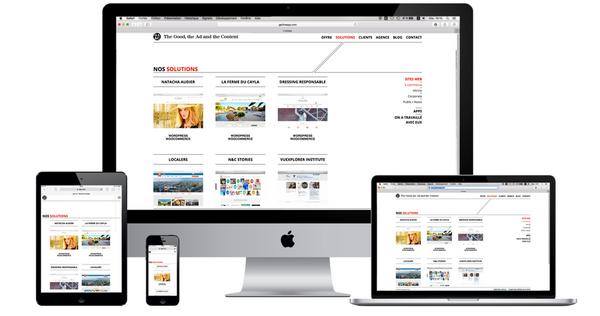 Le concept est simple : le client trouvera un pictogramme d'oreille sur la barre supérieure de la page d'accueil du site ČSOB, qui est un lien vers