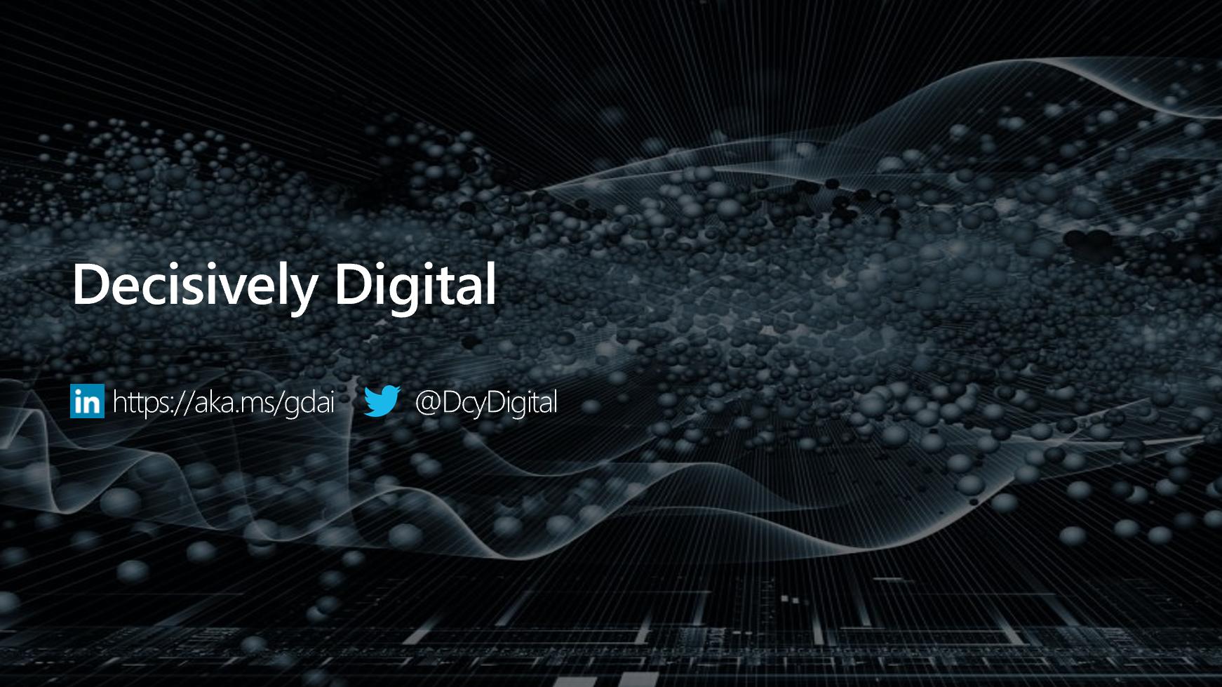 Decisively Digital