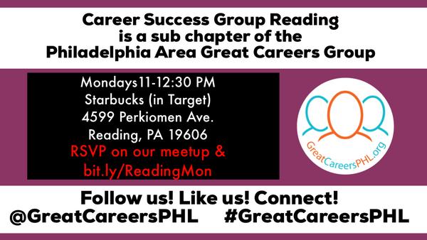 Career Success Group Reading (Reading, PA) | Meetup
