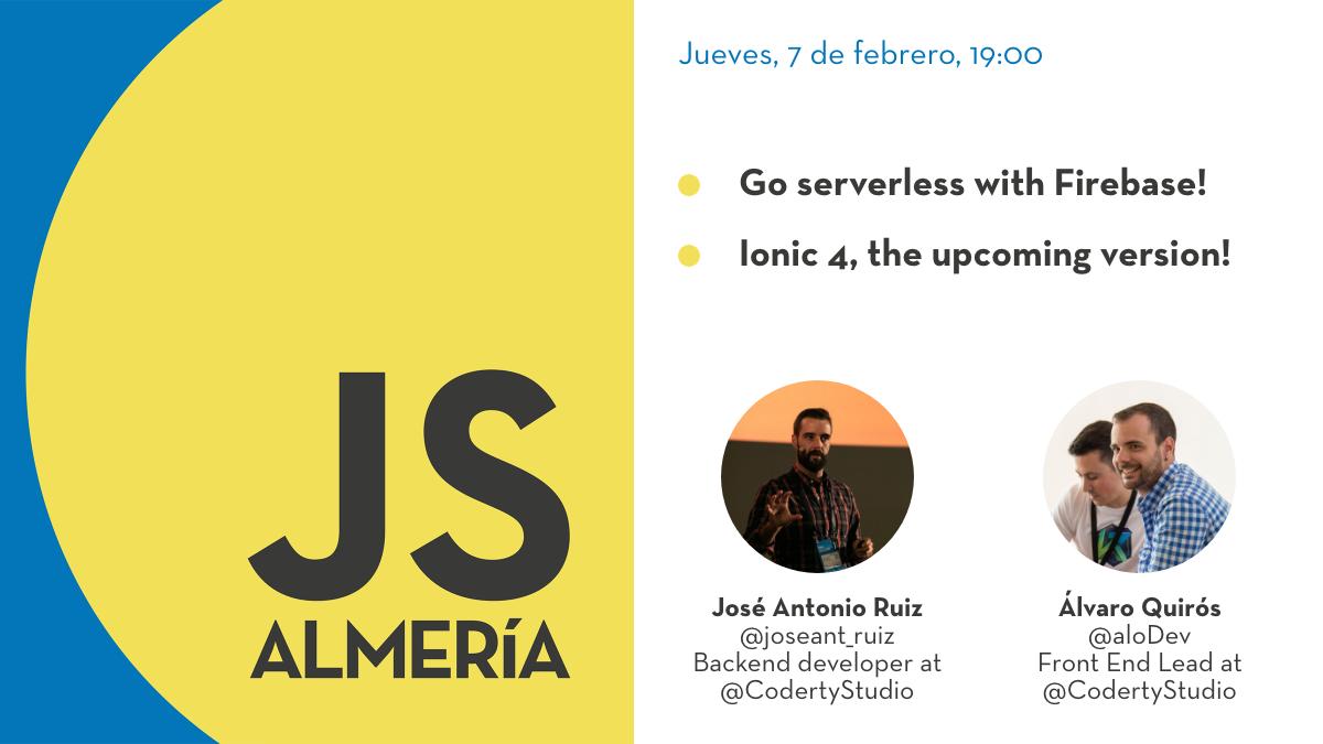 Go serverless con Firebase e Ionic 4