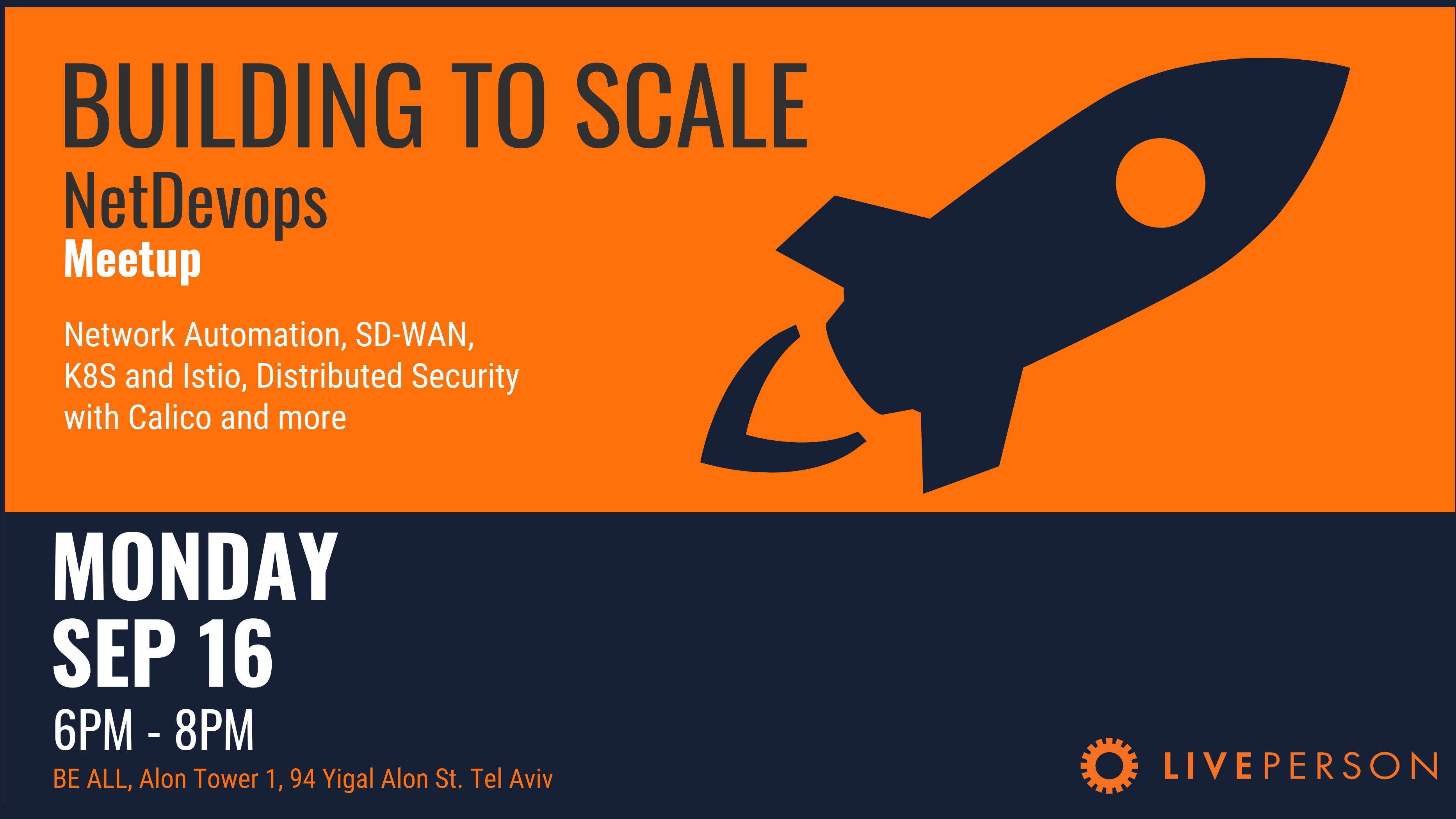 Building for Scale: NetDevOps with Liveperson