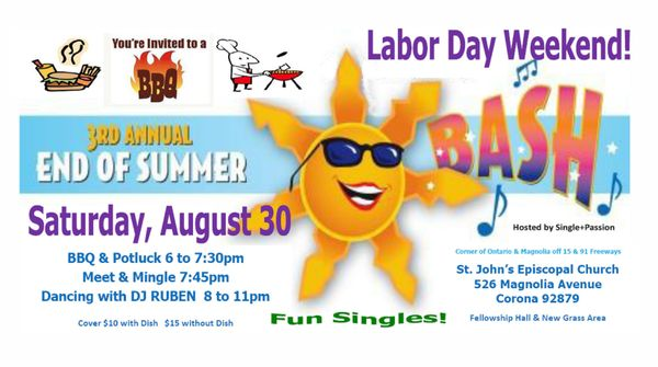 Singles ministry labor day