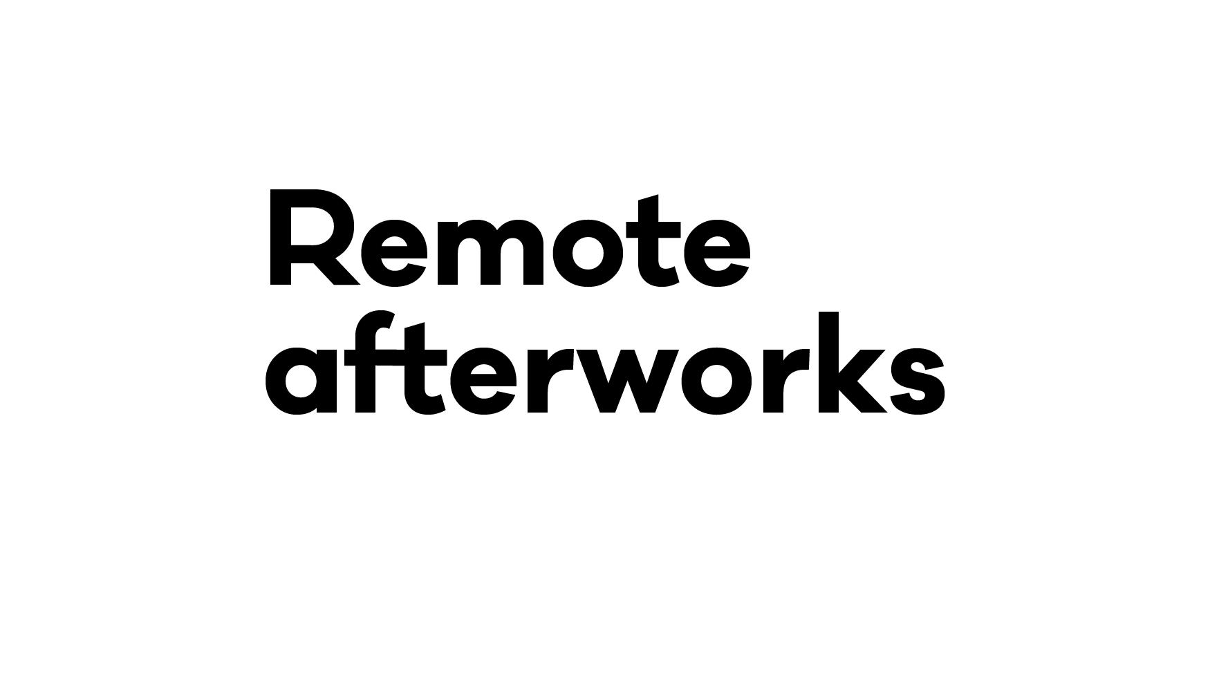 RemoteAfterWorks