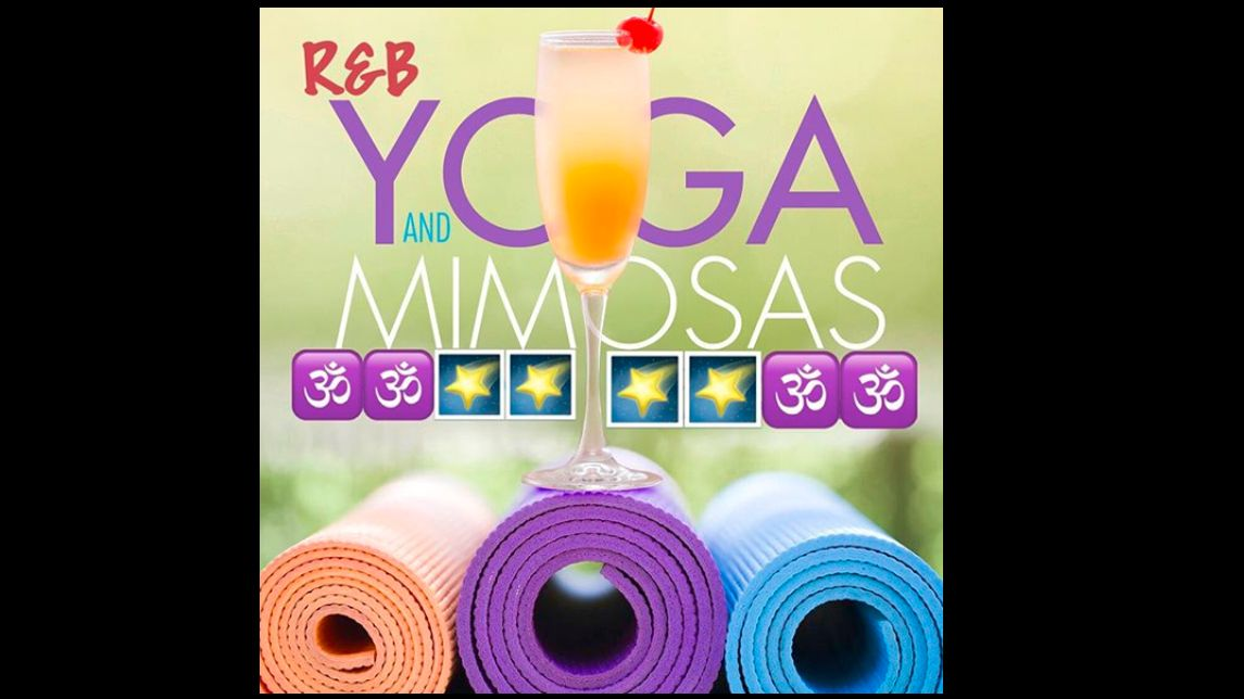 RNB Yoga and Mimosas (R&B Yoga)