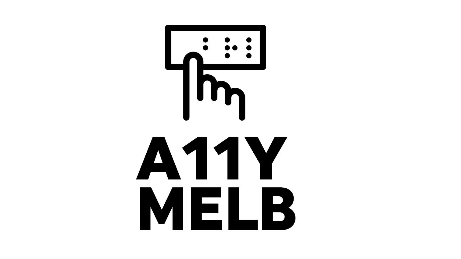 Melbourne Web Accessibility & Inclusive Design