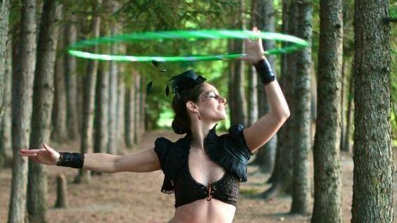 Let's Do Hula Hooping at the Square for Fun and Fitness(While Social Distancing)