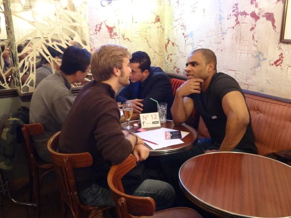 speed dating in english paris