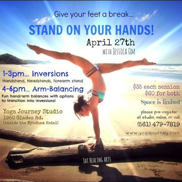 learn to stand on your hands inversions  arm balancing