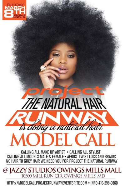 Model Casting Call For The Natural Hair Runway Project ...