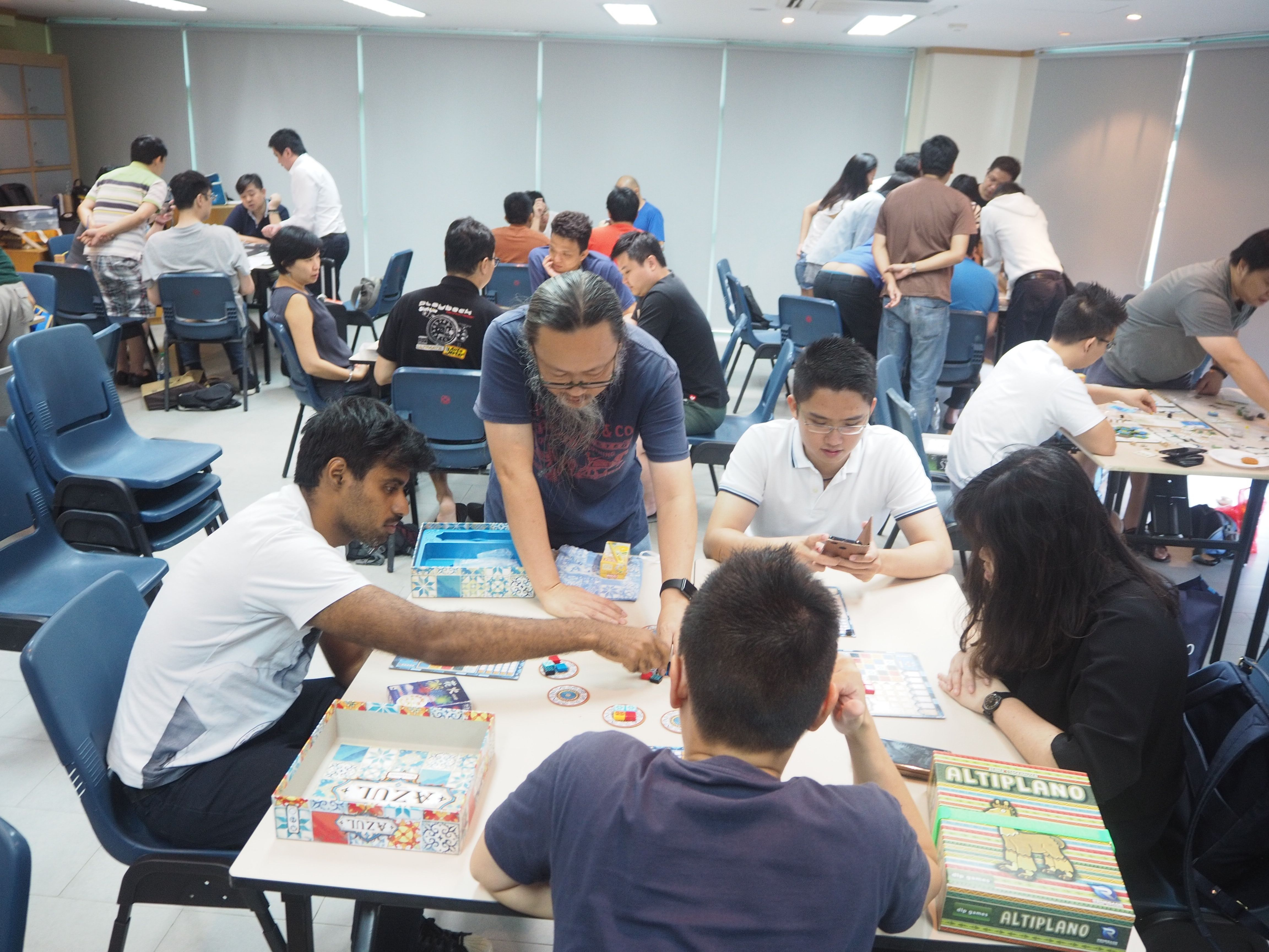 The Singapore Boardgames Meetup