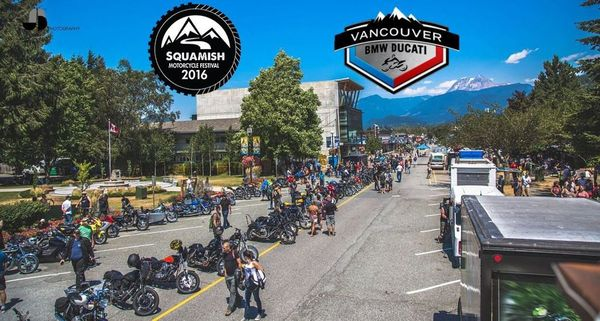 vancouver bmw ducati at squamish motorcycle festival - vroom
