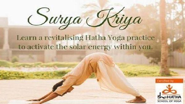 Hatha Yoga Surya Kriya Fire Up The Sun Within In Reston Va Meetup