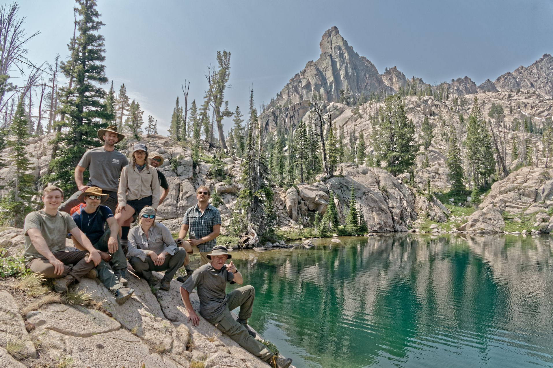 The Hopeless Wanderers - Backpacking Group