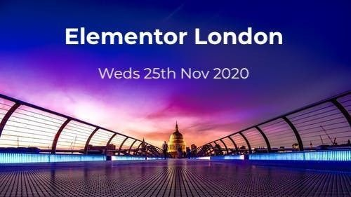 Elementor London - event image