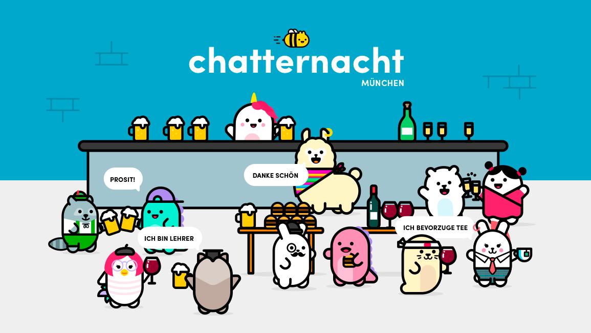 Chatternacht Munich, Speak & Learn German-effective and fun