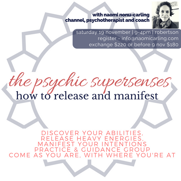 Developing Spiritual Awareness - Psychic Abilities & Guides (Wollongong,  Australia)