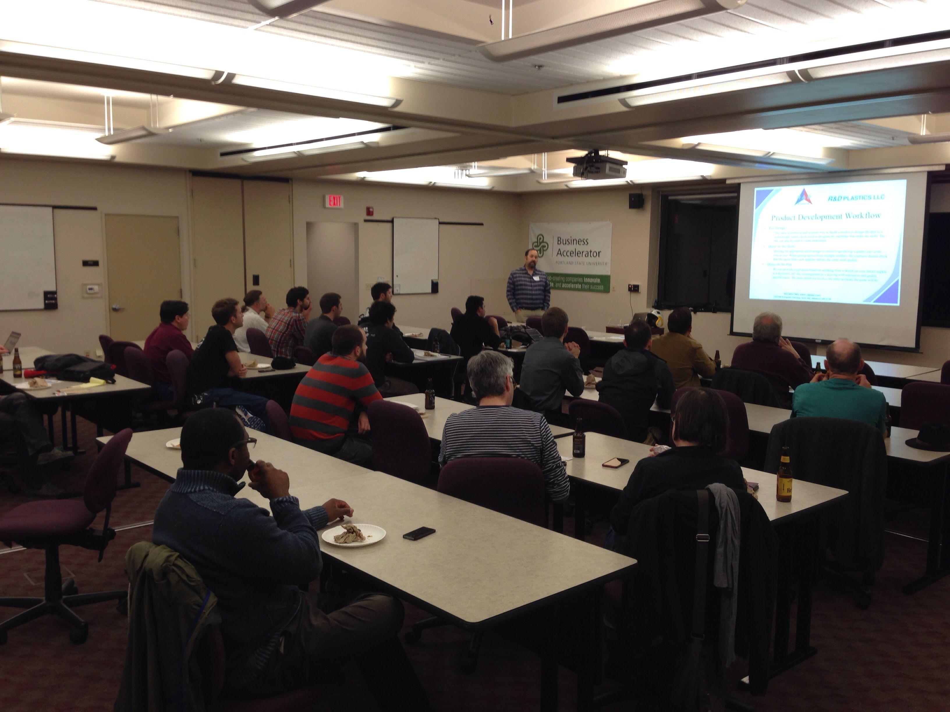 PDX Hardware Startup Meetup