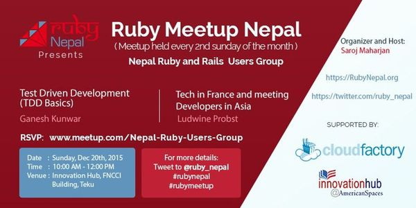 RubyNepal Meetup Banner