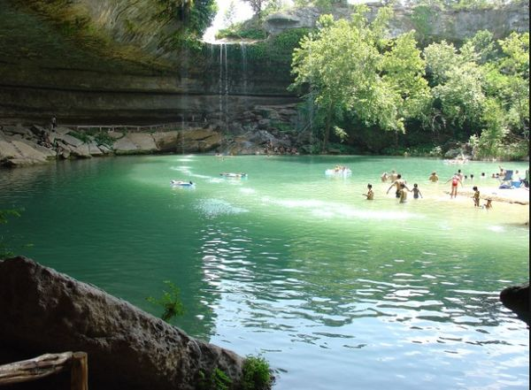 More Swimming Holes Hamilton Pool Outside In Texas