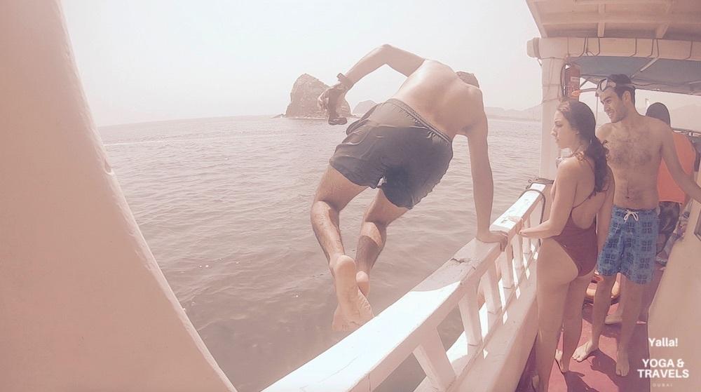 Adventure Oman + Yoga - Musandam 2Day Boat Trip + Snorkeling , Dolphin
