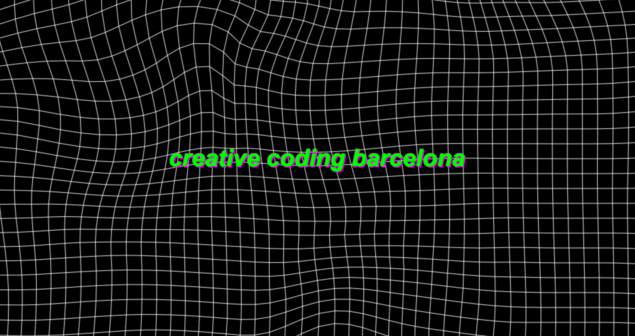 Creative Coding Barcelona
