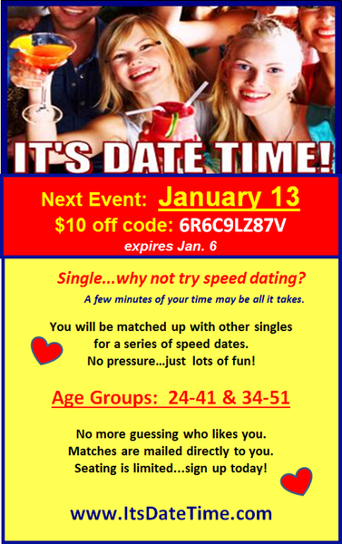 Houston tx speed dating