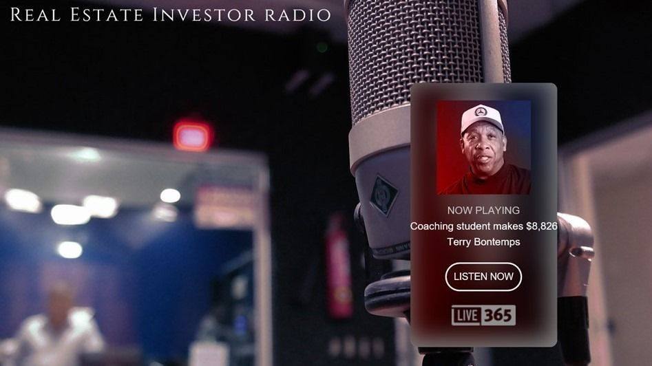 LISTEN TO REAL ESTATE INVESTOR RADIO 24 HOURS A DAY-FREE REAL ESTATE MENTORING