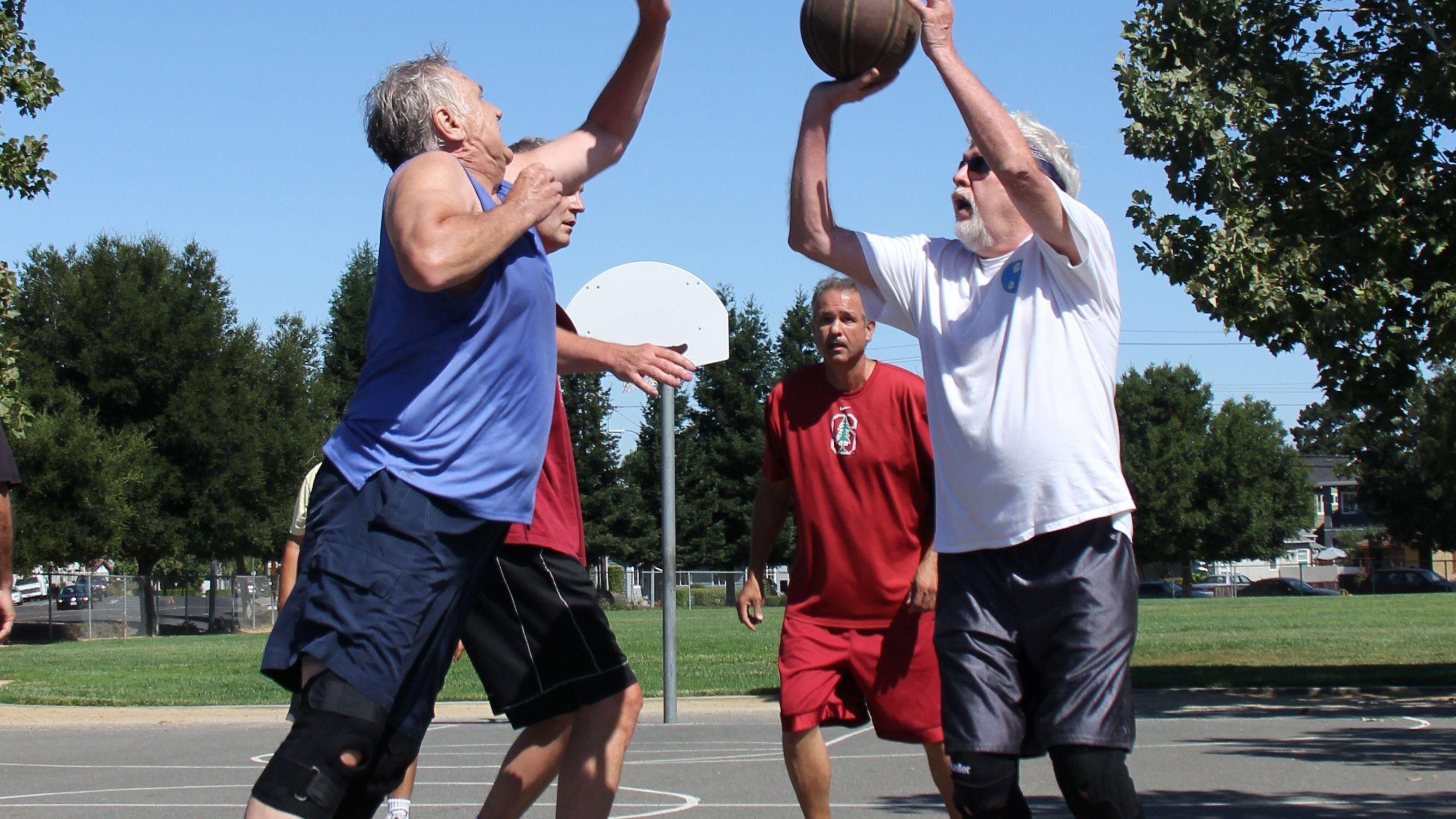 Old Man Basketball