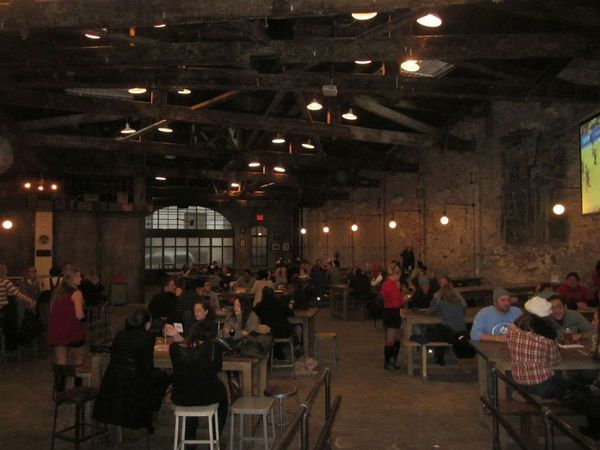 Christians Social At The Houston Hall Indoor Beer Garden