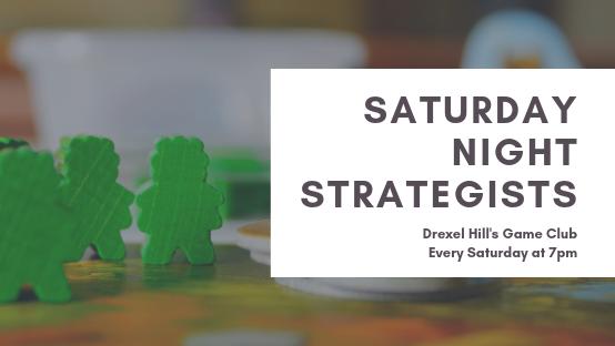 Saturday Night Strategists: Drexel Hill's Gaming Club