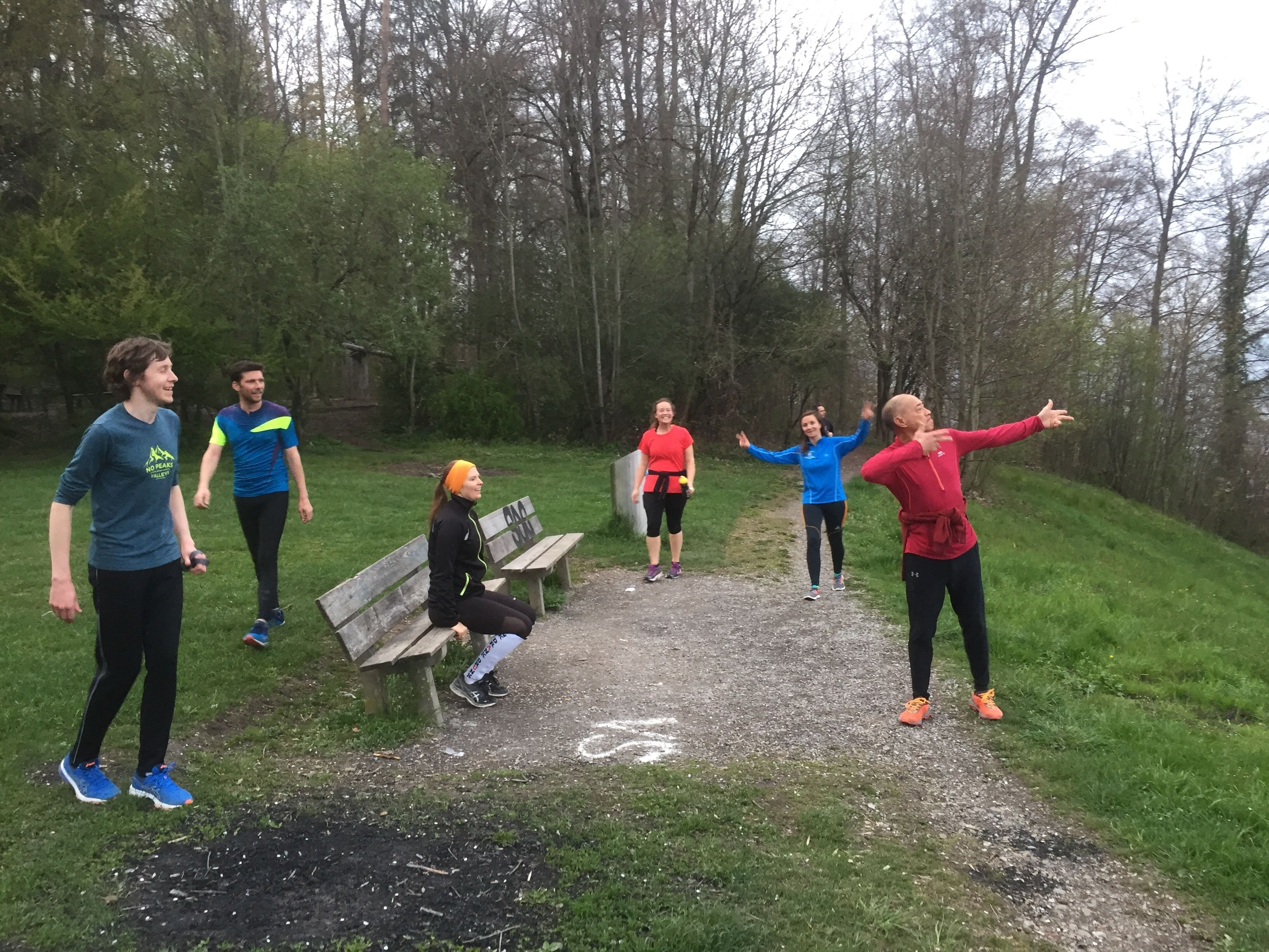 The Zürich Hash House Harriers (ZH3)