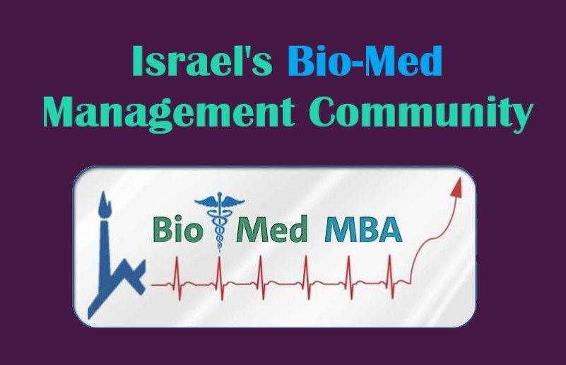 Israel's BioMedical Management Community
