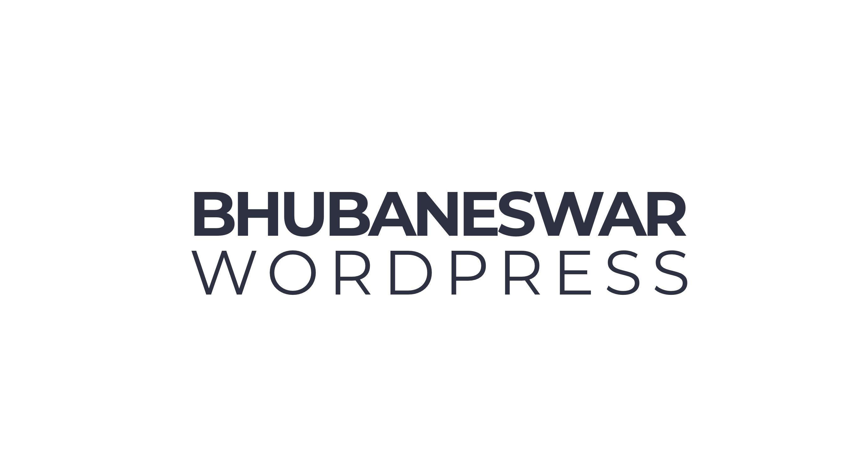 Bhubaneswar WordPress Meetup
