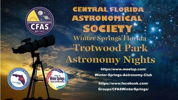 Central Florida Astronomical Society at Winter Springs