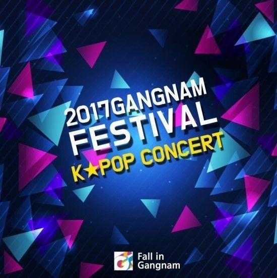 Resultado de imagen de gangnam festival kpop concert 2017