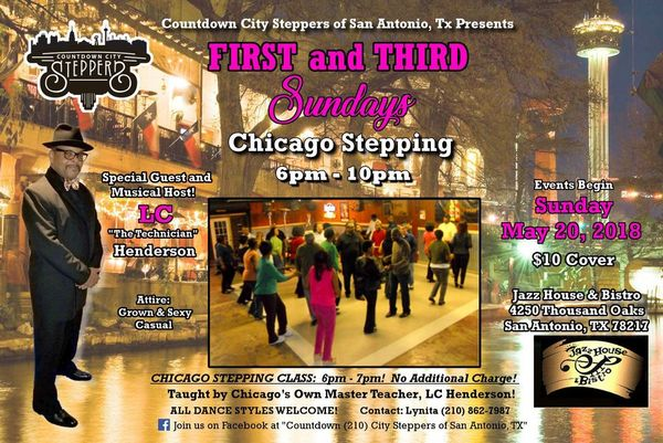 First And Third Sundays Chicago Stepping Urban Ballroom Dance