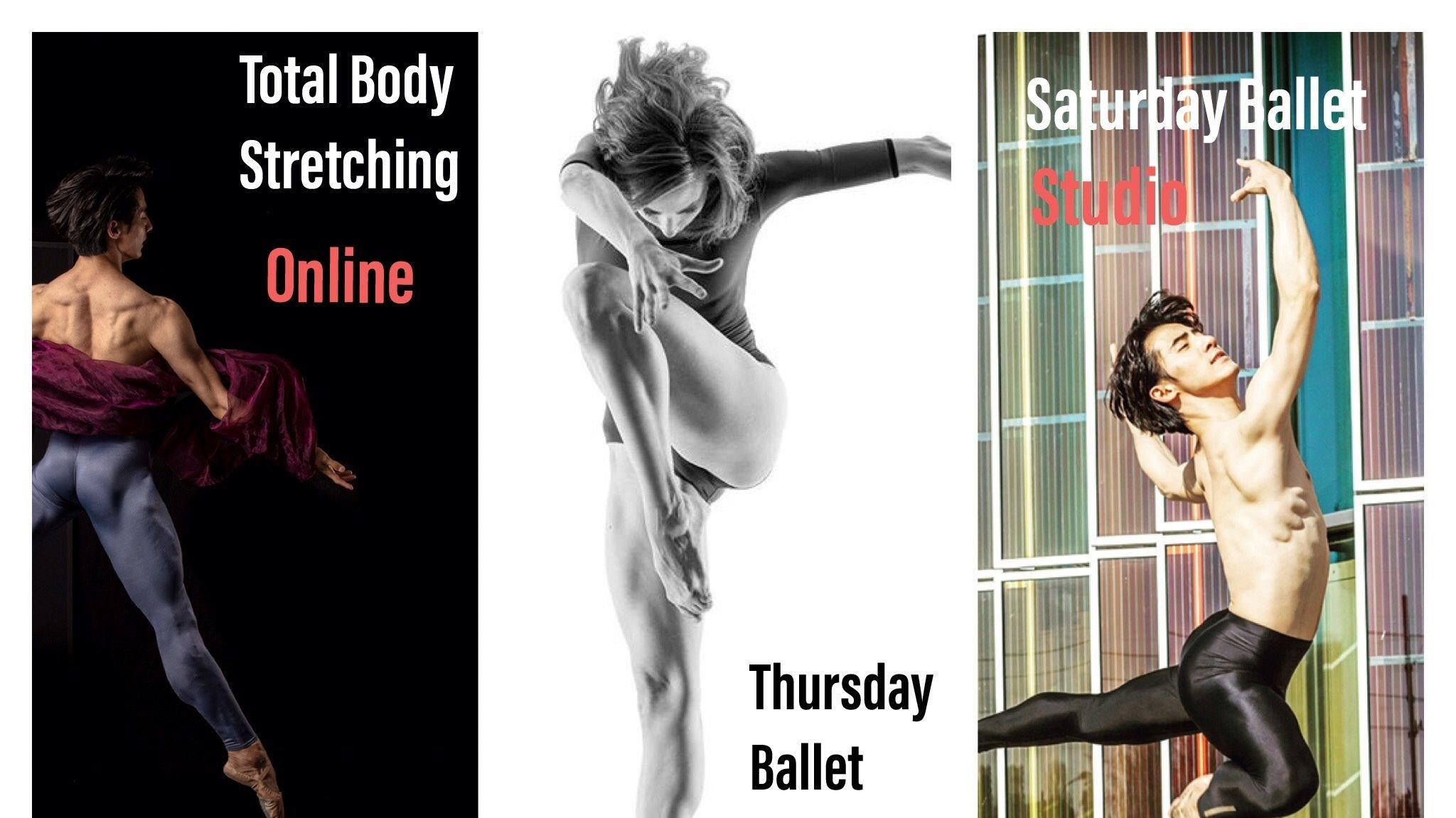 SUN-BALLET online class Thursday