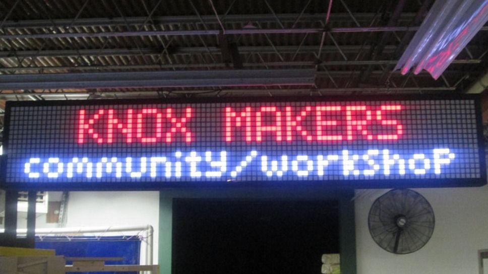 Knox Makers Meetup