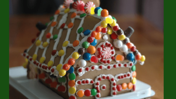 """""""Gingerbread"""" House Party on Christmas Eve!"""