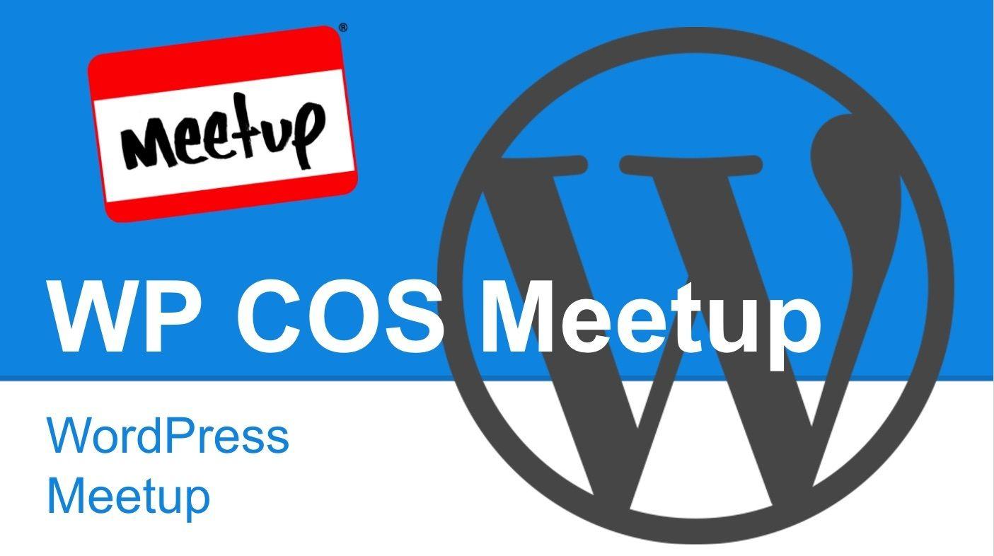 Colorado Springs WordPress Meetup