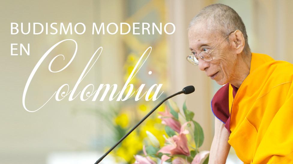 Meditación y Budismo Moderno en Bogotá