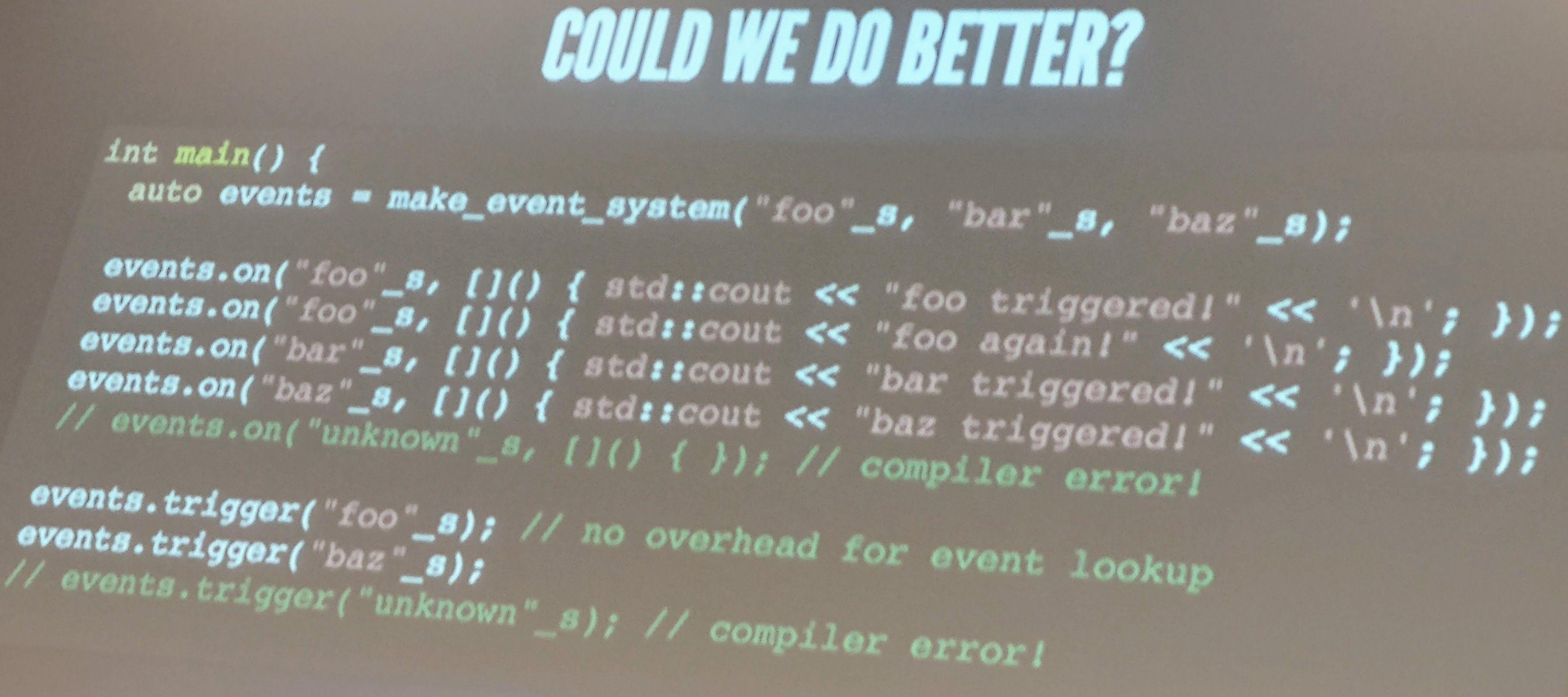 C++ Usergroup Dresden