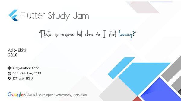 Flutter Study Jam | Meetup