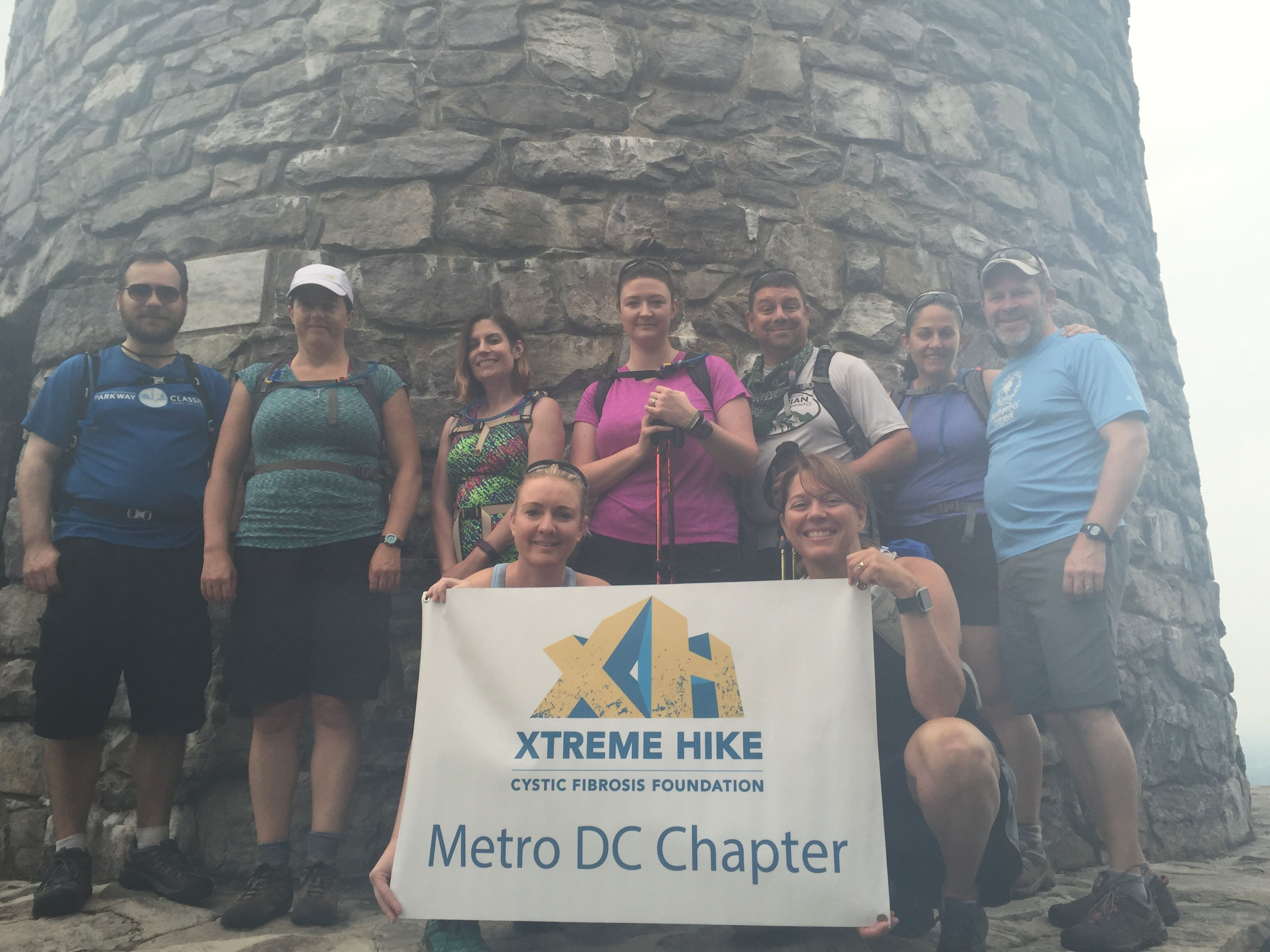Xtreme Hikers- Hiking for a cure of Cystic Fibrosis