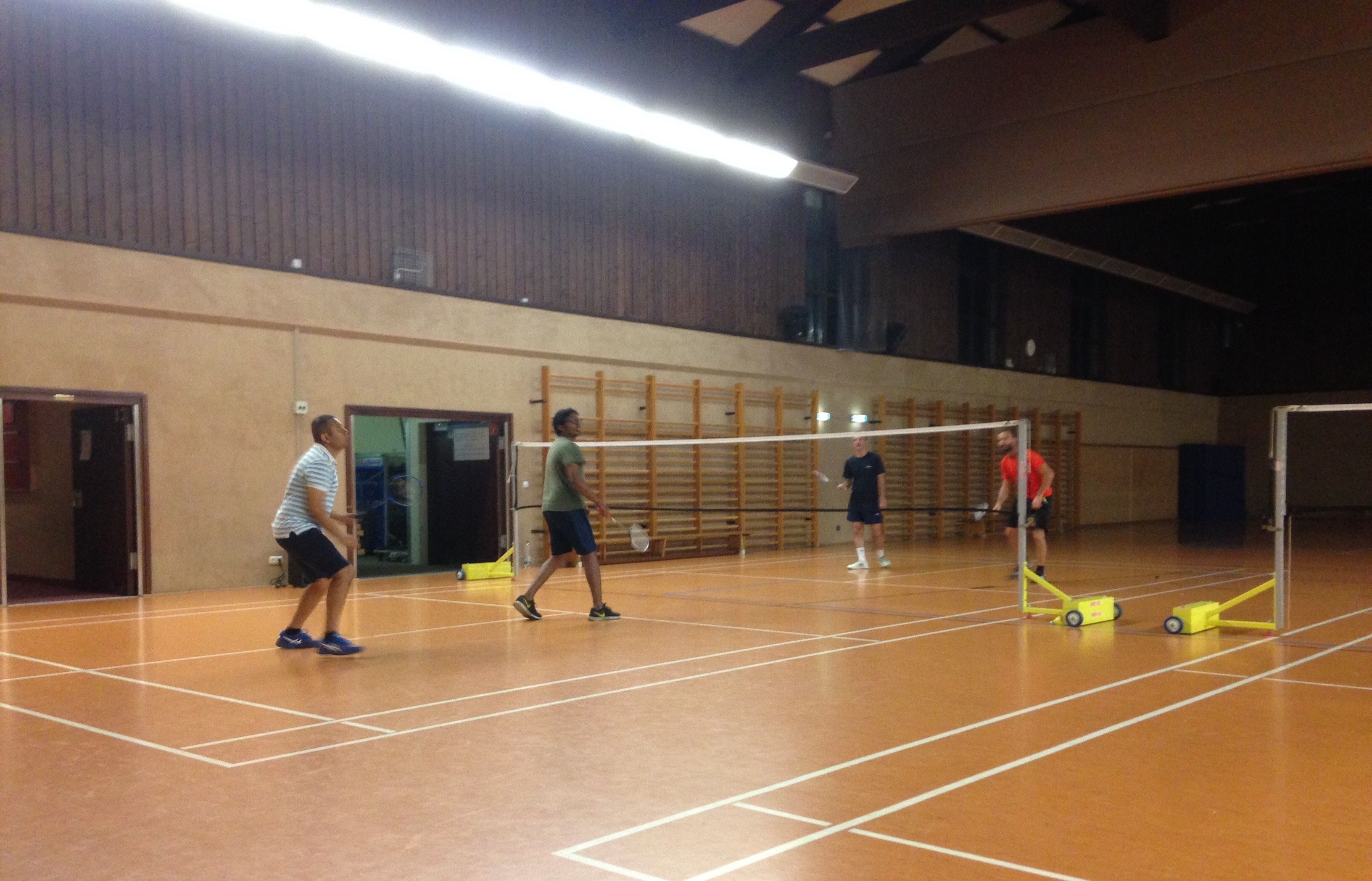 Weekly Badminton!