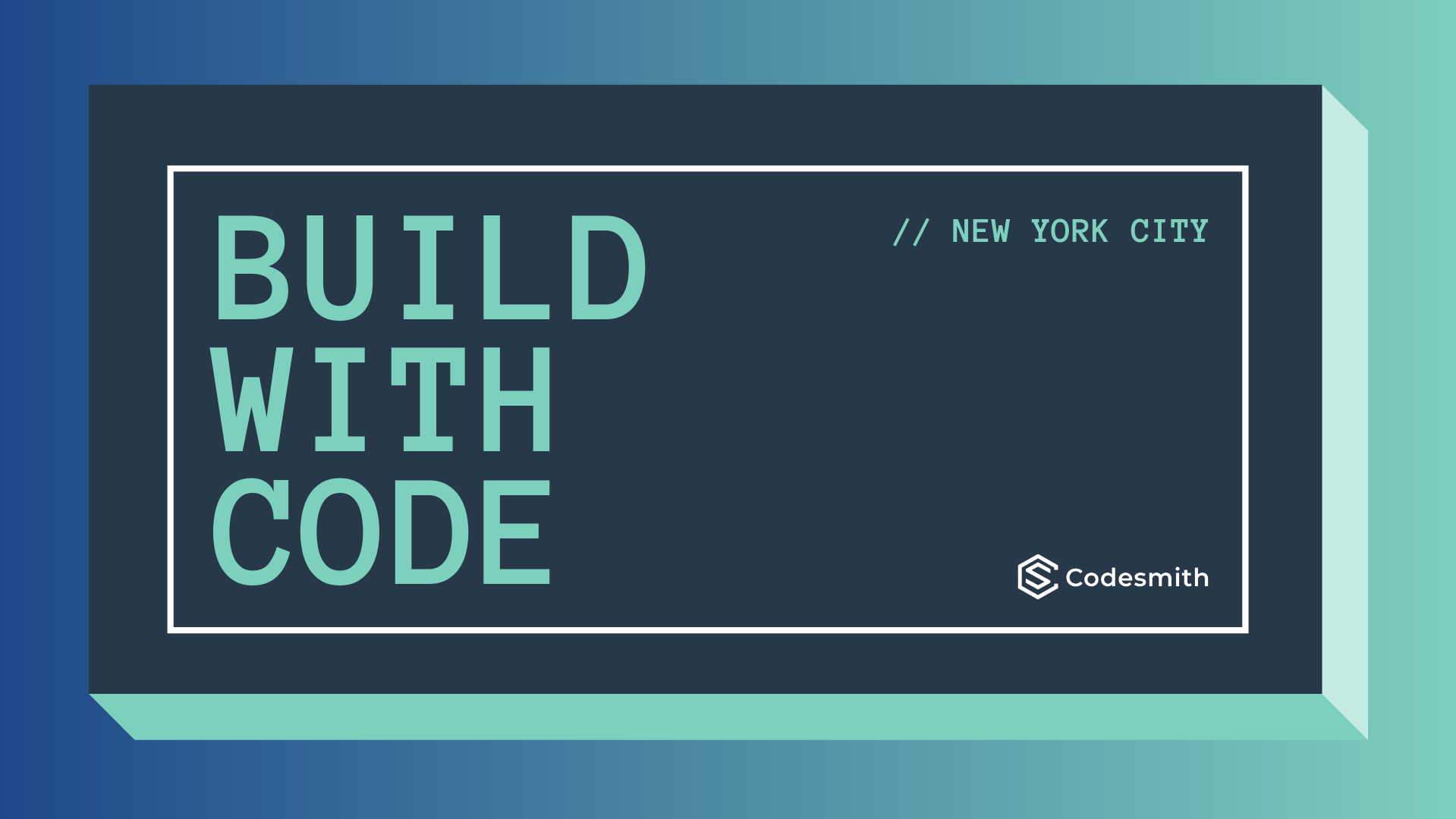 Build with Code - New York City