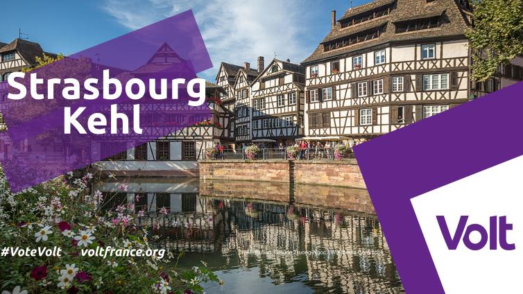 Politique - Volt France - Strasbourg-Kehl
