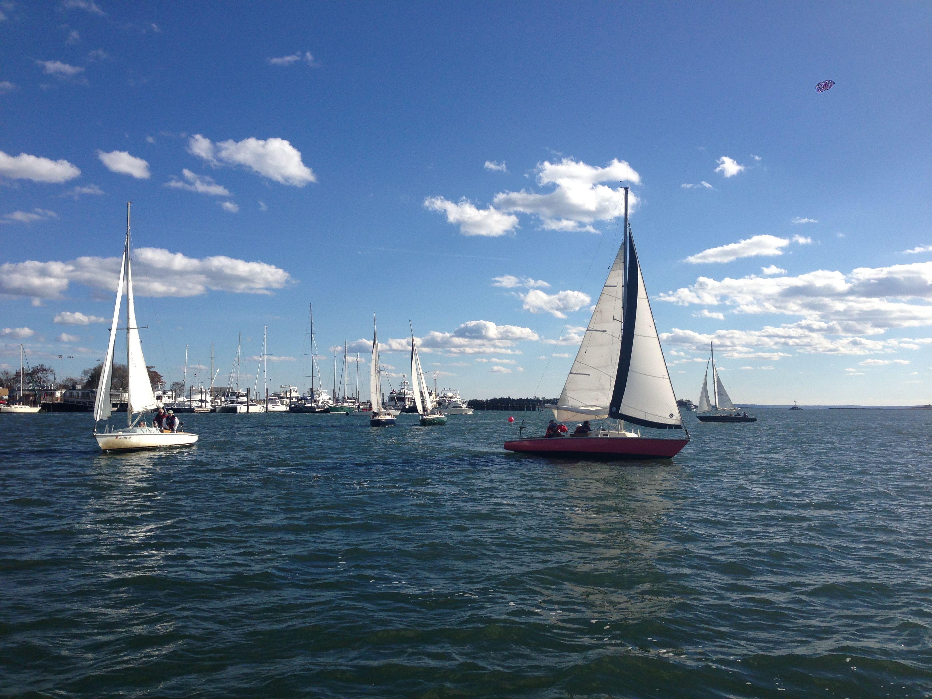 Group Sailing at Sound Sailing Center/ Norwalk